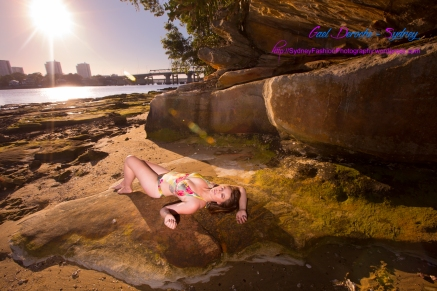 Fashion Beach Modelling Photography on in Sydney. Swimwear photographer in New South Wales.